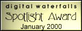 Digital Waterfalls Spotlight Award